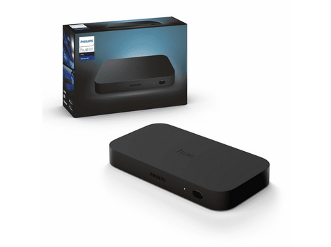 Sincronizador HDMI - Philips Hue Play HDMI Sync Box, Smart Lights, Hasta 4K, Bluetooth, WiFi, Negro