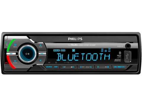 Autorradio - Philips CE235BT, Bluetooth, USB