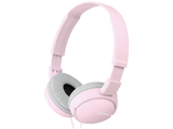 Auriculares con cable - Sony MDR-ZX110AP Rosa, Supra-aural