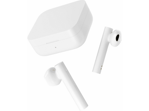 Auriculares inalámbricos - Xiaomi Mi True Wireless 2 Basic, Bluetooth True Wireless, 5 horas, Blanco