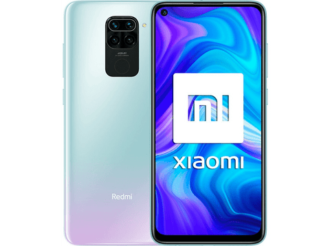 Móvil - Xiaomi Redmi Note 9, Blanco, 128 GB, 4 GB, 6.53
