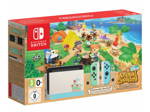 Consola - Nintendo Switch (Ed. Animal Crossing: New Horizons), 6.2