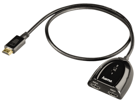 Cable adaptador - HAMA 122224, HDMI Swicher 2X1