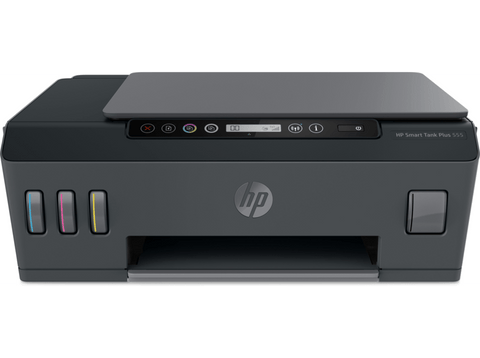 Impresora Multifunción - HP Smart Tank Plus 555, Imprime, copia y escanea, Bluetooth®, Negro