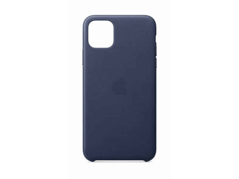 Funda - Apple Leather Case, Para el iPhone 11 Pro Max, Tacto suave, Azul noche
