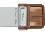 Pendrive de 16 Gb - Kingston DataTraveler microDuo 3.0, memoria USB OTG