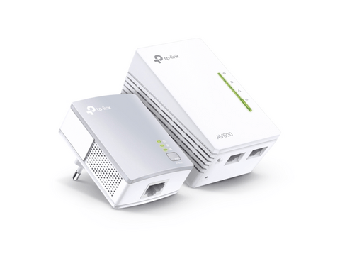 Powerline WiFi - TP-Link Powerline AV600, HomePlug AV (HPAV), IEEE 1901 - 802.11b/g/n