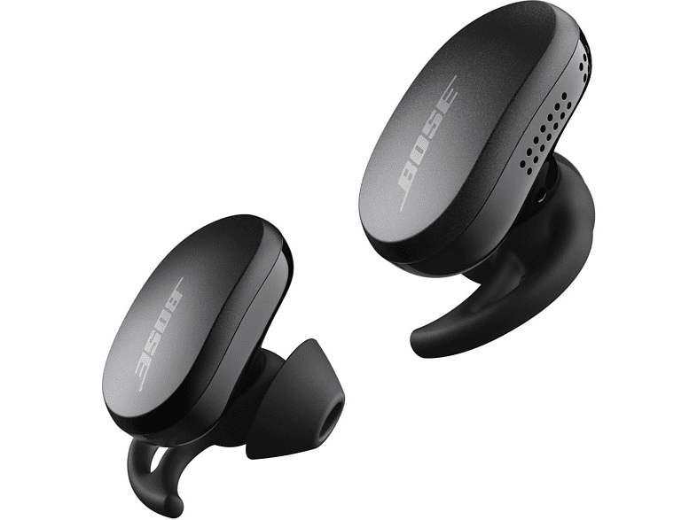 Auriculares inalámbricos - Bose QuiteComfort, 6h, Resistencia IPX4, Control táctil, Bluetooth, Negro