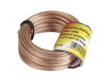 Cable de audio - Hama 00030723, 20m, Transparente