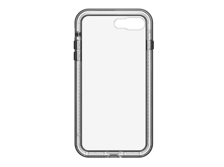 Carcasa - Otterbox LifeProof Next, Para iPhone 7 Plus y 8 Plus, Black Crystal