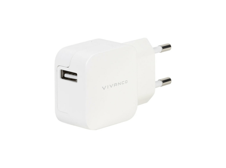 Cargador USB - Vivanco USB 2.4A