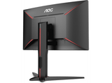 Monitor gaming - AOC C24G1 24 Full HD, Curvo, 1 ms, 144 Hz, LED, Flicker Free, FreeSync, Negro/Rojo