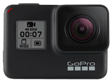Cámara deportiva - GoPro HERO7 Black, Vídeo 4k60, 12MP, HyperSmooth, Wi-Fi, GPS, Bluetooth, Negro