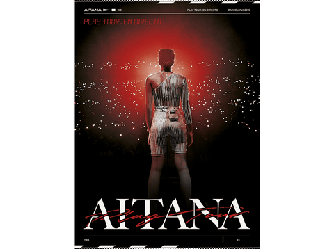Aitana - Play Tour En Directo - CD + DVD