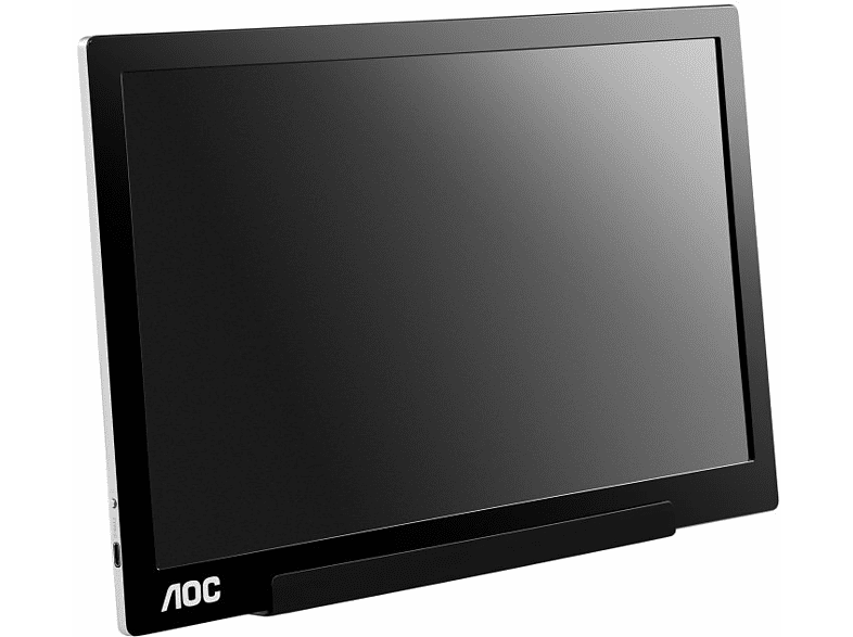 Monitor - AOC I1601FWUX, 15.6, Full HD, IPS, Negro