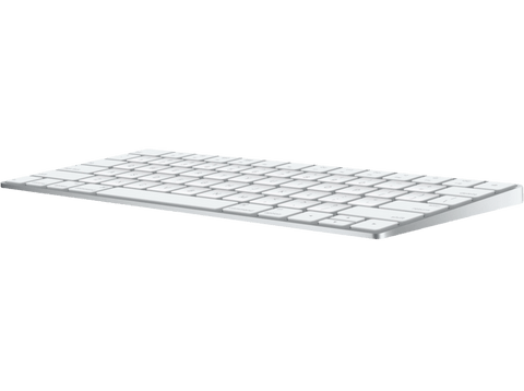 Teclado inalámbrico - Apple Magic Keyboard, Bluetooth, USB, Plata