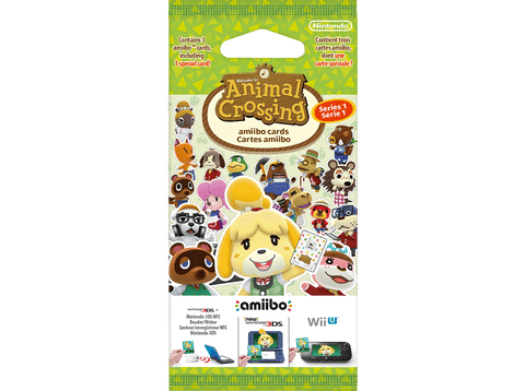 Pack 3 Tarjetas Amiibo - Nintendo - Animal Crossing Serie 1
