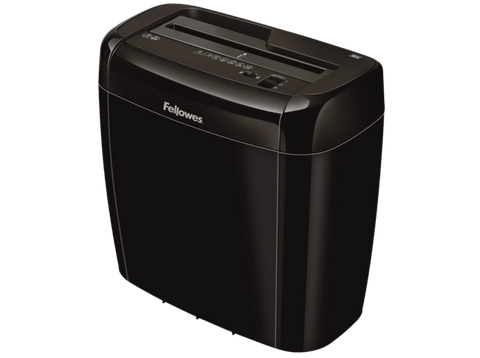 Destructora de papel - Fellowes 36C, 6 Hojas, Negro