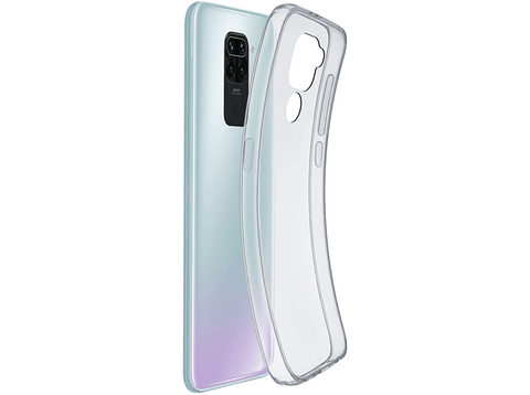 Funda - Cellularline Fine, para Xiaomi Redmi 9 Note
