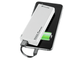 Power bank ultrarrápido Cellular Line Freepower Slim, 10000mAh, Blanco