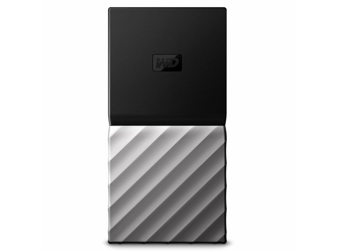 Disco duro de 512 GB - WD Western Digital My Passport SSD, USB 3.0, Negro