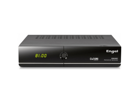Receptor satélite - Engel RS8100Y, HD, Wi-Fi, Ethernet, USB 2.0, HDMI