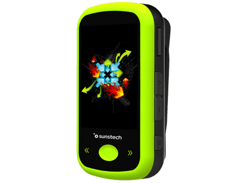 MP4 - Sunstech IBIZABT4GBGN, FM, 4 GB, MP3, AMV, JPG, Bluetooth, Micro USB, Verde