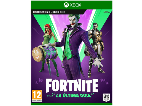 Xbox One Fortnite Lote La Última Risa