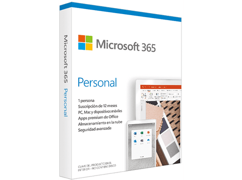 Software - Microsoft Office 365 Personal 1 año