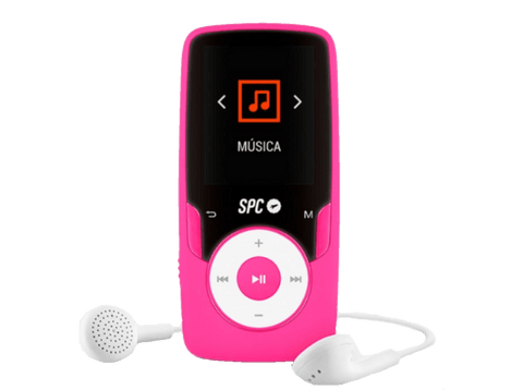 MP4 - SPC Pure Sound Extreme, 8GB, Radio FM, Pantalla de 1.8