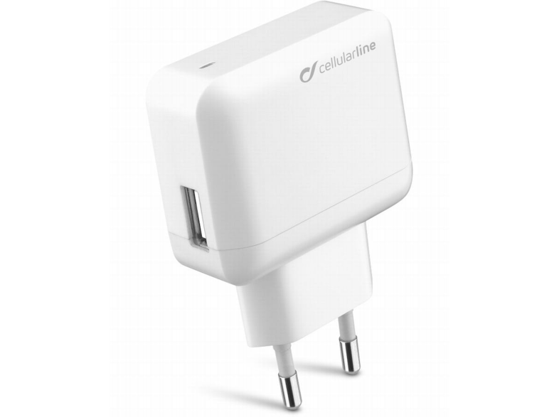 Cellularline USB CHARGER ULTRA Interior Blanco cargador de dispositivo móvil