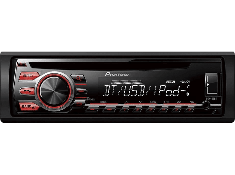 Autorradio - Pioneer DEH-09BT, Radio CD, USB, Bluetooth