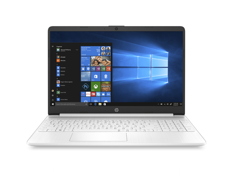 Portátil - HP 15S-FQ1010NS, 15.6 HD, Intel® Core™ i7-1065G7, 8GB RAM, 256GB SSD, Windows 10, Blanco