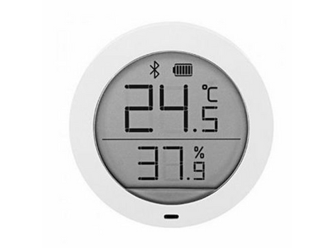 Sensor de temperatura y humedad - Xiaomi NUN4019TY, Mi Temperature and Humidity Monitor, Domótica