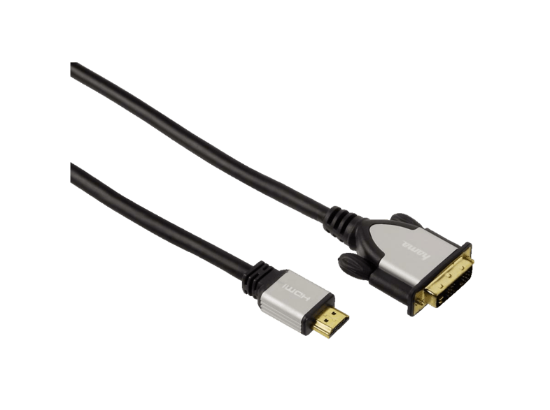 Cable adaptador de red - Hama 00054533 DVI-D HDMI Negro