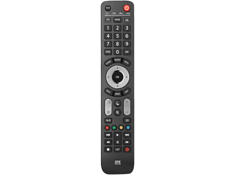 Mando a distancia - One for All URC7145 Evolve 4, Universal, SmartControl