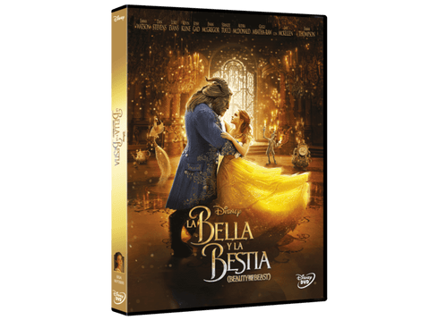 La Bella y la Bestia (Acción Real) - DVD