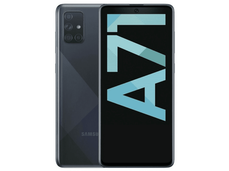 Móvil - Samsung Galaxy A71, Negro, 128 GB, 6 GB RAM, 6.7 Full HD+, SDM730, 4500 mAh, Android