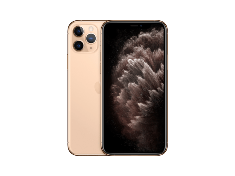 Apple iPhone 11 Pro, Oro, 64 GB, 6 GB RAM, 5.8 OLED Super Retina XDR, Chip A13 Bionic, iOS