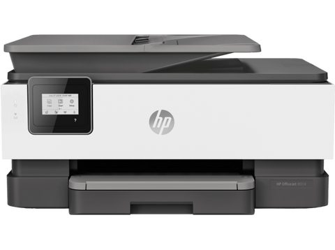 Impresora multifunción - HP OfficeJet 8014, 18 ppm, 4800 x 1200 DPI, Impresión y copia a color, A4, Wi-Fi
