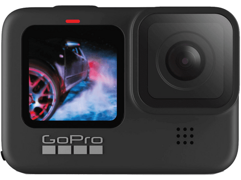 Cámara deportiva - GoPro Hero 9 Black, Vídeo 5k30, 20MP HDR, Slo-Mo x8, Sumergible 10m, HyperSmooth 3.0, Negro