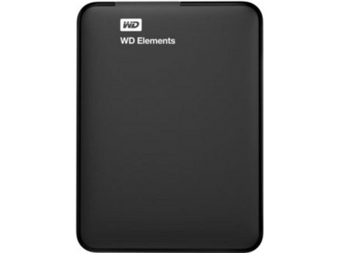 Disco duro 2 TB - WD Elements, 2.5 pulgadas, Externo