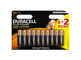 Pilas AA - Duracell Plus Power LR06, 8 + 2 Uds