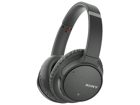 Auriculares inalámbricos - Sony WH-CH700N, Bluetooth, Noise Cancelling, 40 mm, DSEE, Micrófono, Negro