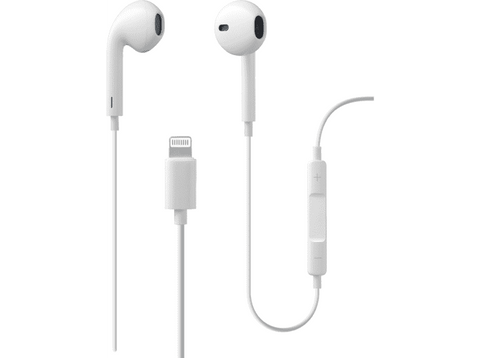 Auriculares - Cellular Line Swan, Con cable, Para iPhone, Blanco