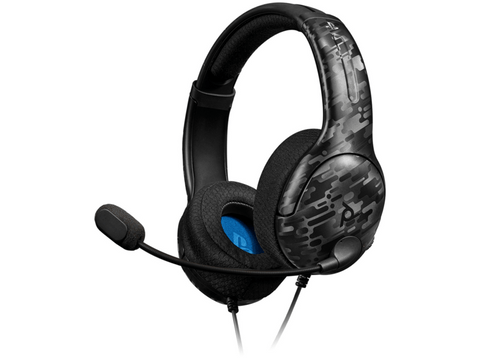 Auriculares gaming - PDP LVL40, Con cable, Jack 3.5 mm, Camo