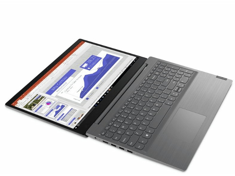 Portátil - Lenovo V15 ADA, 15.6 HD, AMD 3020E, 4 GB, 256 GB SSD, Windows 10 Home, Gris