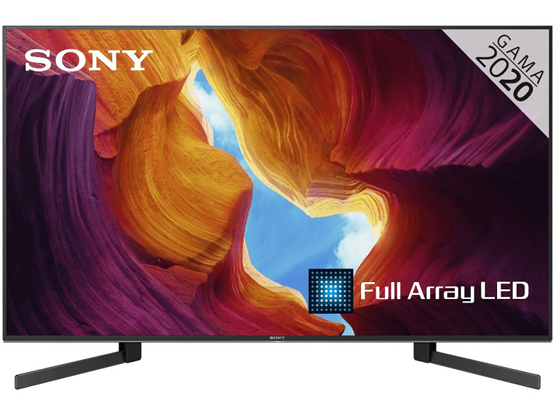 TV LED 49 - Sony KD-49XH9505 UHD 4K HDR, Android TV, X1 Ultimate, Full Array LED, Búsqueda por voz
