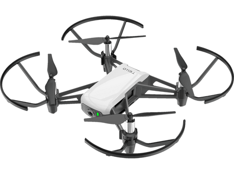 Mini drone - DJI Ryze TELLO, HD (720p), 5 MP, 8 m/s, Distancia 100 metros, Hasta 13 minutos, Blanco