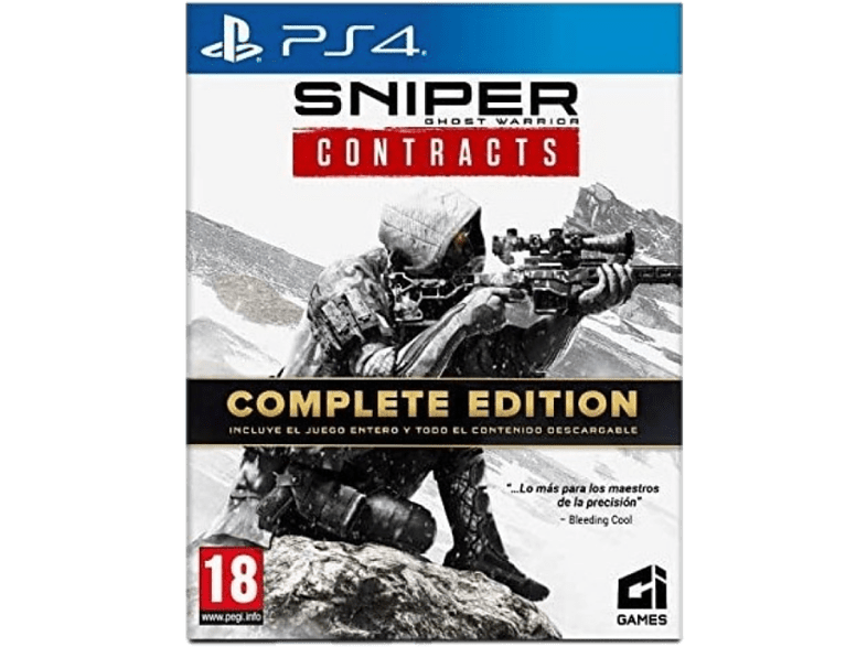 PS4 Sniper Ghost Warrior Contracts Complete Edition